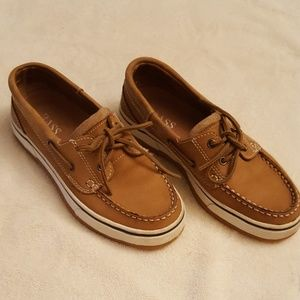 HOST PICK!  Bass Men's Leather Boat Shoes
